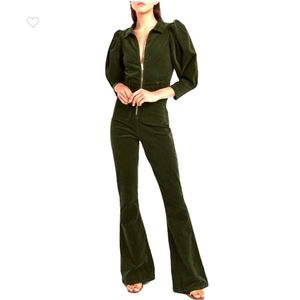 NWT We Wore What 70' Corduroy Jumpsuit